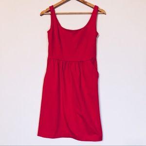 Cynthia Rowley Coral Pink Sleeveless Sheath Dress